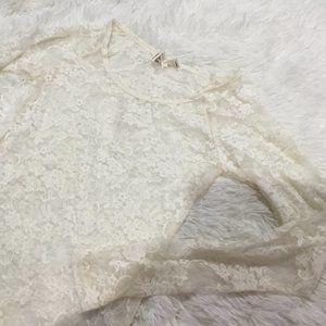 Kirra Lace Long Sleeve Top